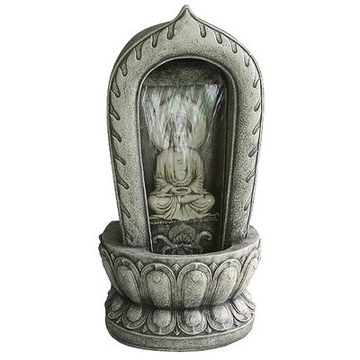 Grand Buddha Meditation Fountain by Design Toscano