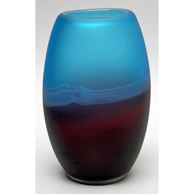 Palo Duro Glass Vase by Design Toscano