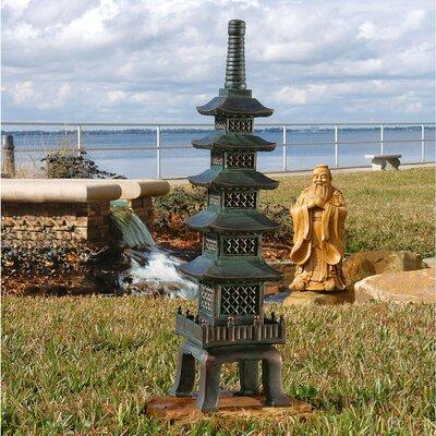 The Nara Temple Asian Garden Pagoda Statue by Design Toscano
