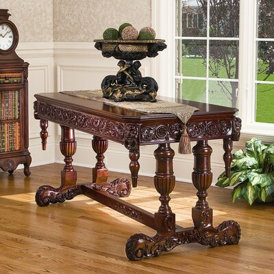 Sir Benedict's Library Table by Design Toscano