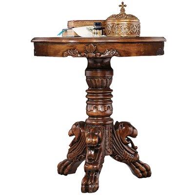 Design Toscano Heraldic Lion End Table