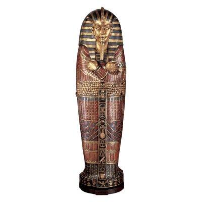 King Tutankhamen's Life Size Sarcophagus Statue by Design Toscano