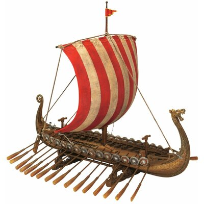 Design Toscano Drekar the Viking Longship Museum Replica