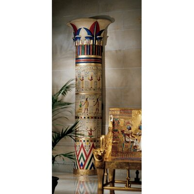 Giant Egyptian Columns of Luxor Sculpture by Design Toscano