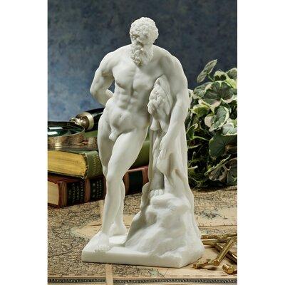 Bonded Marble (200 B.C.) Farnese Hercules Figurine by Design Toscano