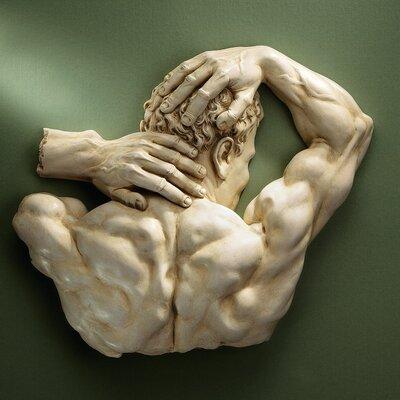 Design Toscano Theseus Sculptural Frieze Wall Décor