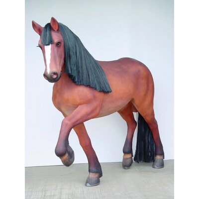Design Toscano Thunder Ridge Prancing Quarter Horse Filly Statue