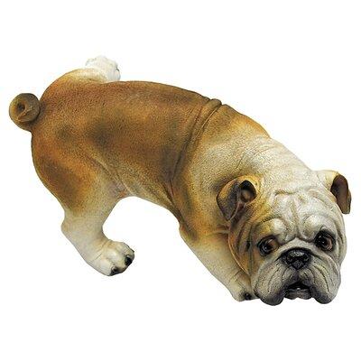 Design Toscano Good Dog Gone Bad Peeing Bulldog Figurine