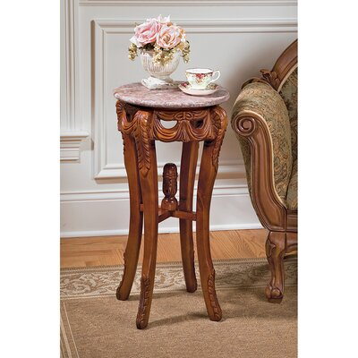 Lady Marguerite End Table by Design Toscano