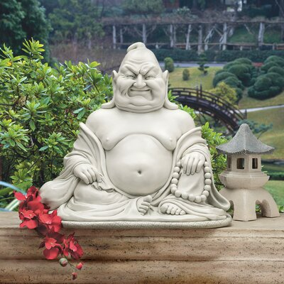 The Laughing Maitreya Buddha Statue by Design Toscano
