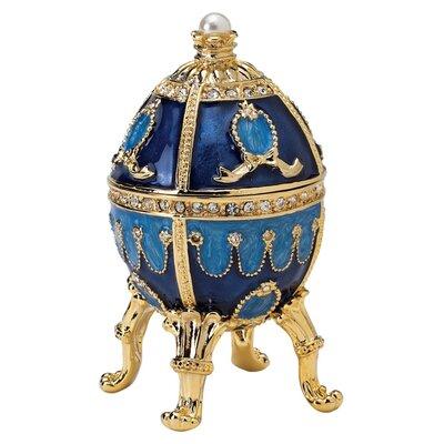 Design Toscano The Pushkin Collection Natalia Faberge-Style Enameled Egg