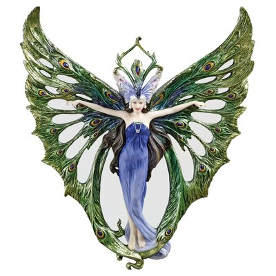 Design Toscano Winged Peacock Princess Wall Décor