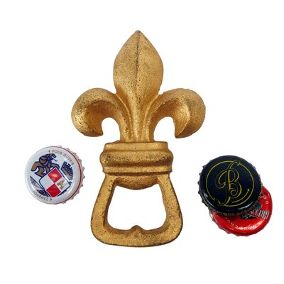 Fleur de Lis Bottle Opener by Design Toscano