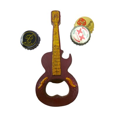 Rock and Roll Guitar Bottle Opener by Design Toscano