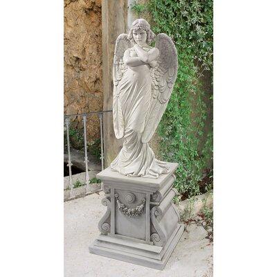 1882 Monteverde Angel Statue by Design Toscano