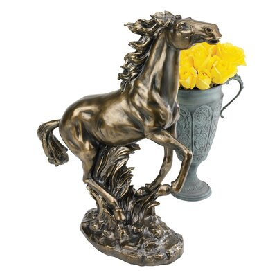 Grace and Beauty Stallion Horse Figurine by Design Toscano