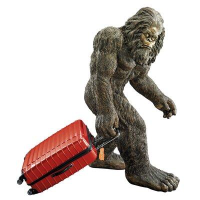 Design Toscano Bigfoot the Giant Life - Size Yeti Statue