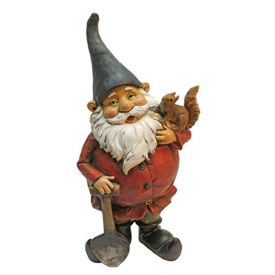 Design Toscano Digger and the Garden Gnome Statue