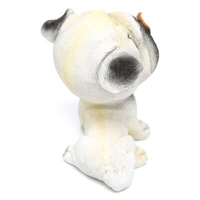 Design Toscano Prized Pup Pug Puppy Dog Figurine