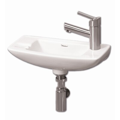 Isabella Single Bowl Bathroom Sink Product Photo