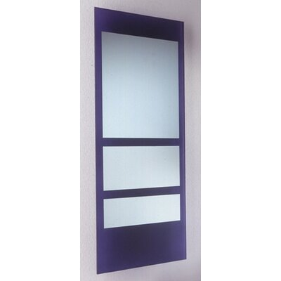 New Generation Rectangular Ecoloom Mirror by Whitehaus Collection