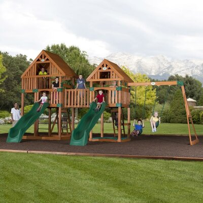 Vista Cedar All Cedar Swing Set Product Photo