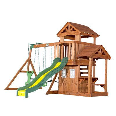 Tanglewood All Cedar Swing Set Product Photo