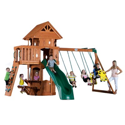 Woodland All Cedar Swing Set Product Photo