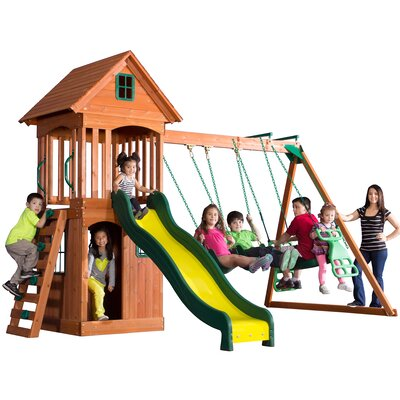 Springwood All Cedar Swing Set Product Photo