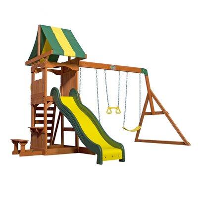 Weston All Cedar Swing Set Product Photo