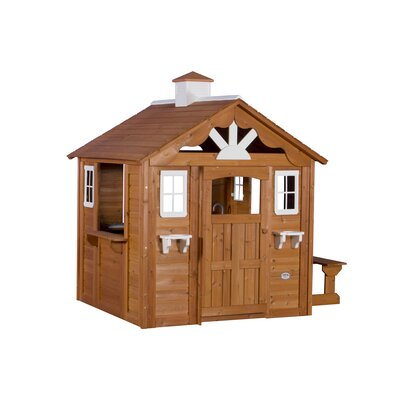 Summer Cottage All Cedar Playhouse by Backyard Discovery