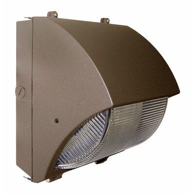 Deco Lighting 100W HPS MT Medium Curved Semi Cut-Off Wall Light in Bronze