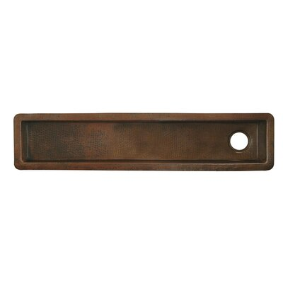 "50"" x 11"" Rio Grande Copper Bar Sink Product Photo"