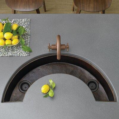 "38"" x 18"" Luna Copper Bar Sink Product Photo"