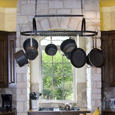 Premier Expandable Hanging Oval Pot Rack by Advantage Components