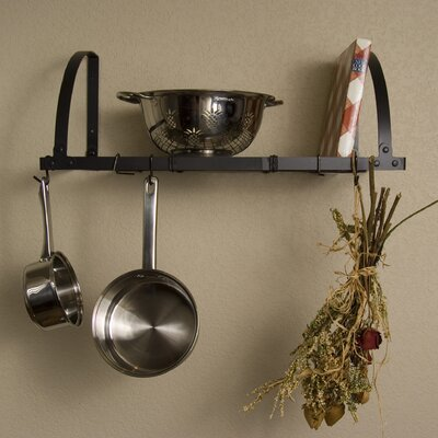 Expandable Wall Mount Pot Rack / Shelf by Advantage Components