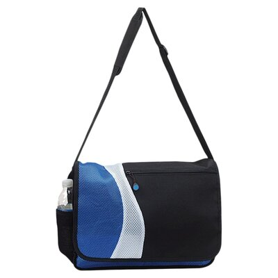 "Preferred Nation 15.5"" Messenger Bag with 2 Exterior Pockets"