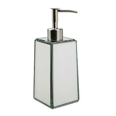Crystal Mirror Lotion Dispenser by Taymor