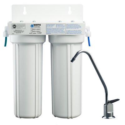 Two Stage LCV Under Counter Water Filter Product Photo