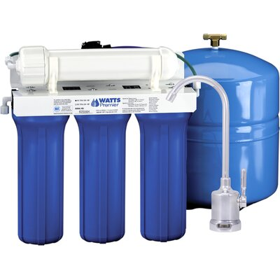 Five Stage EPA / ETV Verified Reverse Osmosis System with Monitor Faucet Product Photo