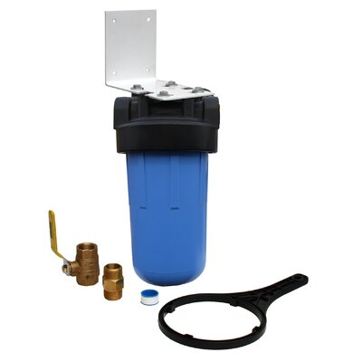 Whole House Full Flow Water Filter with Ball Valve Product Photo
