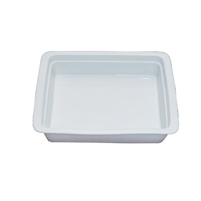 Oblong 2 / 3 Porcelain Food Pan by SMART Buffet Ware