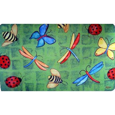 Custom Printed Rugs Bug Party Doormat