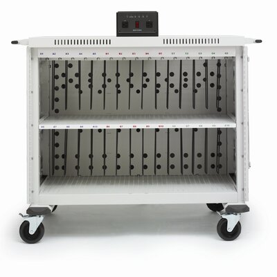 Bretford Manufacturing Inc 30-Compartment Laptop Storage Cart