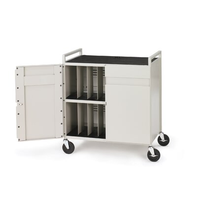 Bretford Manufacturing Inc Core™ 15-Compartment Laptop Storage Cart