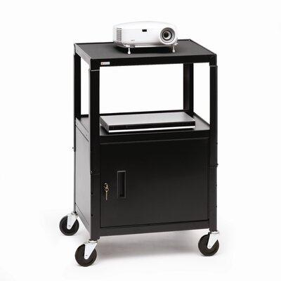Bretford Manufacturing Inc UL Listed Adjustable AV Cart