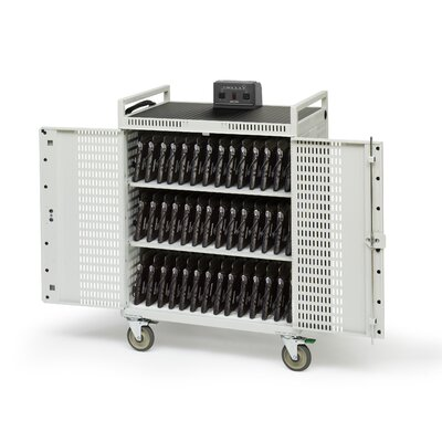 Bretford Manufacturing Inc 42-Compartment Laptop Storage Cart