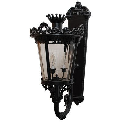 Melissa Lighting Tuscany 3 Light Wall Lantern
