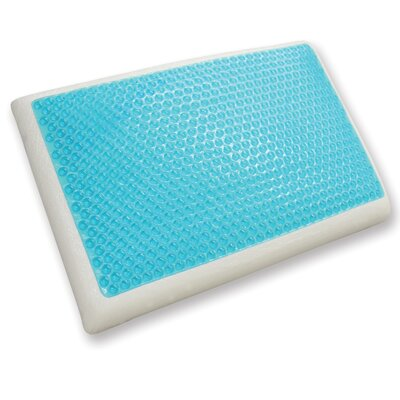 Reversible Cool Gel Memory Foam Queen Pillow by Classic Brands
