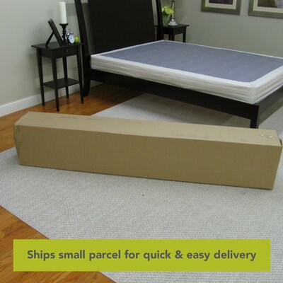 classic brands 8 instant foundation easy to assemble box spring for bed mattress reviews. Black Bedroom Furniture Sets. Home Design Ideas